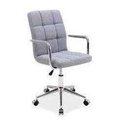 Fotel Q-022 szary materiał - ZADZWOŃ I ZŁAP RABAT DO -10%! TELEFON: 601-892-200