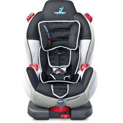 Caretero fotelik Sport Turbo Fix 9-25 kg + ISOFIX Grey