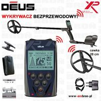 """Wykrywacz metali XP DEUS RC panel cewka 28 cm DD (11"""" DD) GW: 5lat"""
