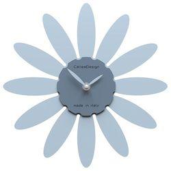 Zegar ścienny Daisy CalleaDesign błękitny, kolor niebieski