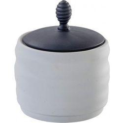 Cukiernica toczona biała duża, 08960602CDC1