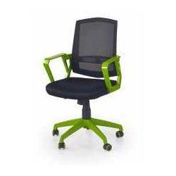 Halmar Fotel ascot czarno- zielony - zadzwoń i złap rabat do -10%! telefon: 601-892-200