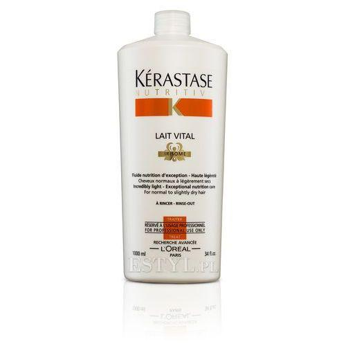 Lait Vital - Mleczko proteinowe do włosów lekko suchych, normalnych 1000 ml, Kerastase