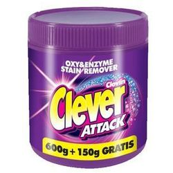 CLEVER ATTACK Tlenowy odplamiacz 750g, Clever
