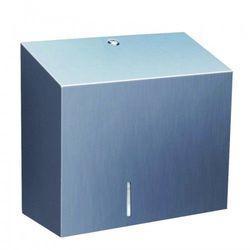 Merida stella duo pojemnik na papier toaletowy z uchwytem na resztkę rolki papieru stal mat bsm202