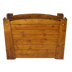 Prostokątna drewniana donica ogrodowa - Akoja, Donica-drewniana-nr-44