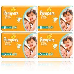 PAMPERS SLEEP&PLAY PIELUCHY 5 11-18KG 168SZT z kategorii Pieluchy jednorazowe
