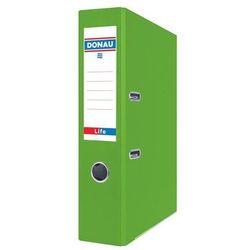 Segregator DONAU Life neon A4 75mm zielony, 3969001PL-06