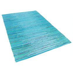 Dywan niebieski bawełniany 160x230 cm MERSIN (4260580937929)