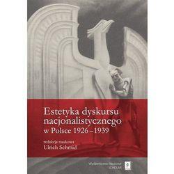 Estetyka dyskursu nacjonalistycznego w Polsce 1926-1939, pozycja wydawnicza