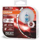 h7 night breaker® laser + 150%   duobox marki Osram®