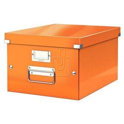 Pudło Click & Store średnie A4 pomarańczowe 6044, BP813247