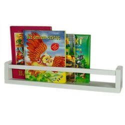 Półka na książki liptos 54 cm - 12 kolorów marki Elior.pl