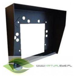 da-1 czarna obudowa stalowa, natynkowa, jedno segmentowa marki Laskomex