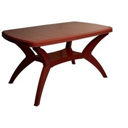 Mega plast stół modello mp467, burgundowy (8606006429252)