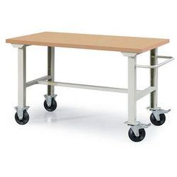 Array Mobilny stół warsztatowy - blat: płyta pilśniowa długość: 1500