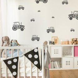 Nakleo Szablon malarski wielokrotny dla dzieci (5 szt.) // traktor (5903175809704)