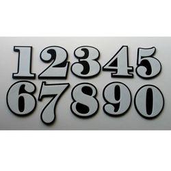 Numer, Numery na Drzwi Biało-Czarne, kup u jednego z partnerów