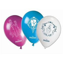 Balony urodzinowe Frozen - Kraina Lodu - 28 cm - 8 szt (5201184846452)