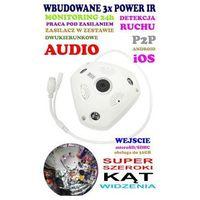 Spy Mini-kamera wifi/p2p hd (zasięg cały świat!) + super szeroki kąt widzenia + zapis...