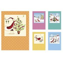 Belarto, Pakiet charytatywnych kartek świątecznych Unicef, 10 szt., towar z kategorii: Pozostałe artykuły szkolne i plastyczne