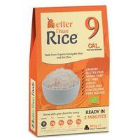 Makaron konjac w kształcie ryżu bezglutenowy bio 385 g - better than foods marki Better than foods (makarony