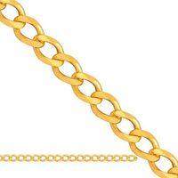 Łańcuszek złoty pancerka ren035 od producenta Nie