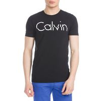 Calvin Klein T-shirt Czarny XXL, kolor czarny
