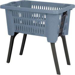 Kosz na pranie, ubrania - pojemnik z nóżkami - 38 L (5902973408058)
