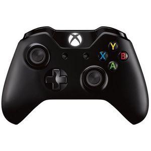 Kontroler xbox one czarny marki Microsoft