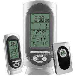 Bezprzewodowa stacja pogody - zegar,alarm,data 182209 marki Biowin