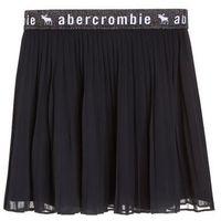 Abercrombie & Fitch ELASTIC PLEATED Spódnica plisowana sky captain navy