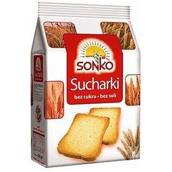 225g suchary bez cukru i soli, marki Sonko