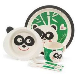 Bambusowy zestaw naczyń panda marki Zopa