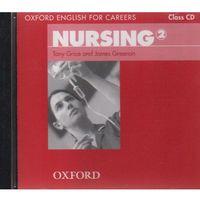 Nursing 2 Oxford English for Careers: Płyta Audio CD do Podręcznika (opr. twarda)