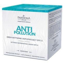 Farmona ANTI POLLUTION Krem aktywnie dotleniający SPF15 (50 ml) - produkt z kategorii- Pozostałe kosmetyki