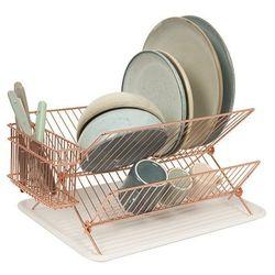 Suszarka do naczyń Dish rack copper plated by pt, - produkt z kategorii- Suszarki do naczyń