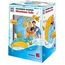 Was ist was Columbus Globus Abenteuer Erde, TING-Starterset mit Hörstift (9783788617936)