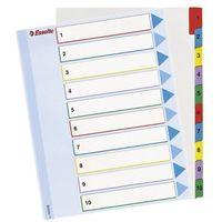 Przekladki numeryczne Esselte Mylar Maxi A4/1-12, 100209 - sprawdź w wybranym sklepie