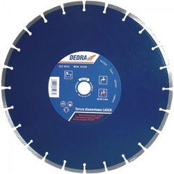 Tarcza do cięcia DEDRA H1163 350 x 25.4 mm Laser Granit diamentowa + DARMOWY TRANSPORT!