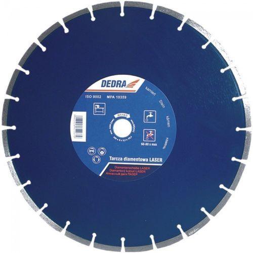 Tarcza do cięcia DEDRA H1163 350 x 25.4 mm Laser Granit diamentowa + DARMOWA DOSTAWA! (tarcza do cięcia) od ELECTRO.pl