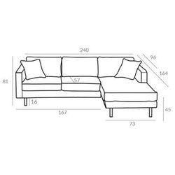 Sofa 2lc mellow 2 gr tkanin - gr 2 marki Altavola design