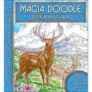 Dzika natura. Artystyczna kolorowanka dla każdego. Magia Doodle