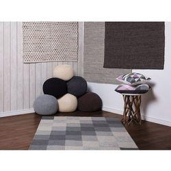 Beliani Dywan beżowy bawełniany 140x200 cm tunceli (7105276589167)