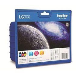 Brother tusz Rainbow Pack LC-900RBWBP LC-900RBWBP - produkt z kategorii- Eksploatacja telefaksów