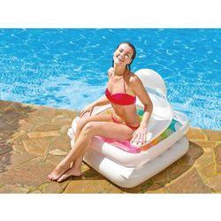 Intex 2w1 fotel leżanka materac plażowy 58847 (6941057488479)