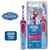 Szczoteczka elektryczna dla dzieci  motyw frozen kraina lodu elsa marki Oral-b