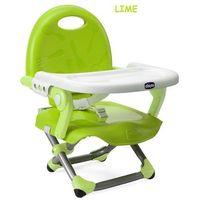 pocket snack krzesełko turystyczne lime zielone marki Chicco