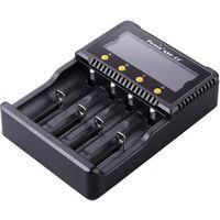Ładowarka do akumulatorków Fenix ARE-C2 FENAREC2+, 10440, 14500, 16340, 18650, 26650, AAA, AA, C (6942870320