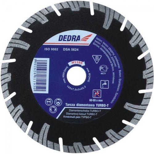 Tarcza do cięcia DEDRA H1198E 250 x 25.4 mm Turbo-T